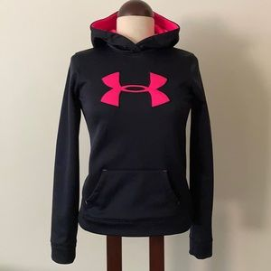 •Under Armour• Fleece-Lined Athletic Hoodie